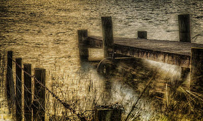 Photograph - The Jetty by Fiona Messenger