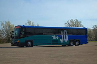 Photograph - The Jo Bus 404 Mci by Tim McCullough