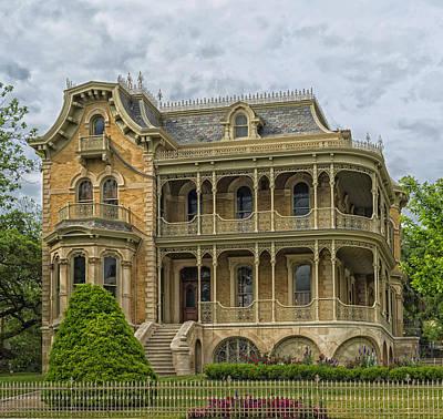 The John Bremond House Of Austin Art Print by Mountain Dreams
