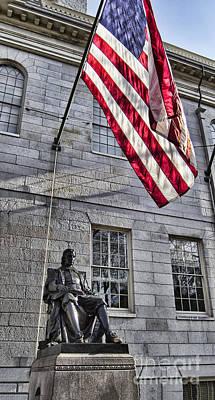 Harvard Wall Art - Photograph - The John Harvard Statue by Douglas Barnard