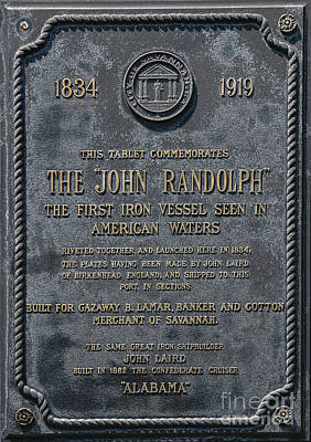 Photograph - The John Randolph by Dale Powell