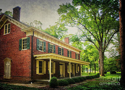 The John Stover House Art Print