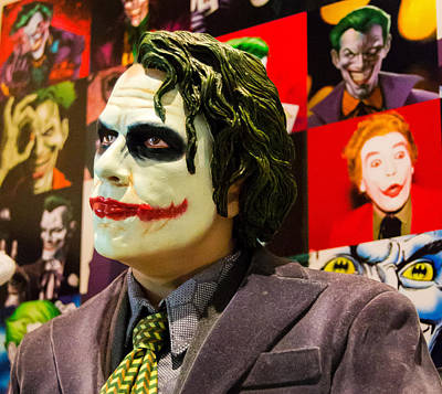Heath Ledger Photograph - The Joker by Ismael Roman
