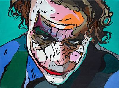 Painting - The Joker by Martin Williams