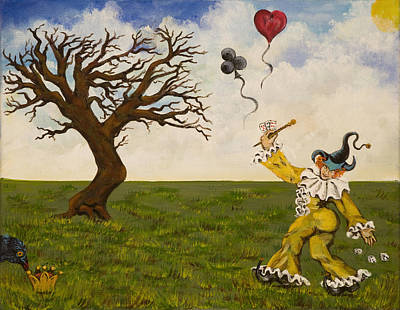 Painting - The Jokers Wild by Susan Culver