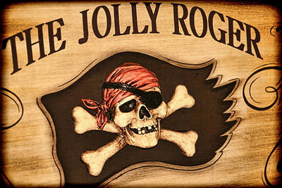 The Jolly Roger Art Print by Kathy Clark