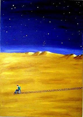 Painting - The Journey 2a by Sandy Wager