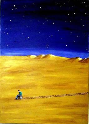 The Journey 2a Art Print
