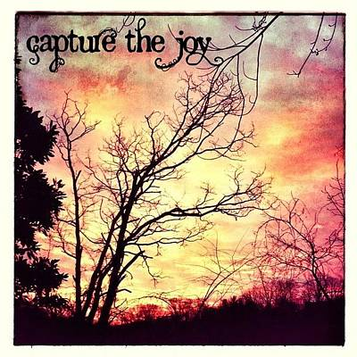 The Joy Of A Beautiful Sunrise. Great Art Print