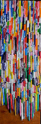 Painting - The Joy Of Crayons by Marwan George Khoury