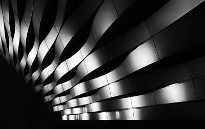 Abstract Architecture Photograph - The Joy Of Waves by Jeroen Van De