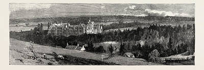 Jubilee Drawing - The Jubilee Of Glenalmond College General View by English School