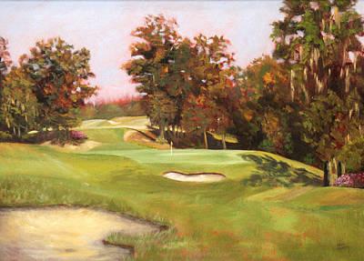 The Judge Robert Trent Jones 17th Hole Original by Karen Langley