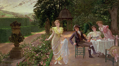 Choosing Painting - The Judgement Of Paris by Hermann Koch