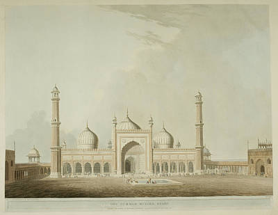 The Jummah Musjed Art Print by British Library