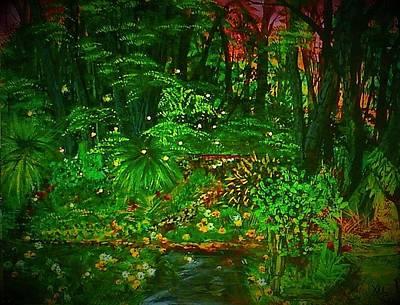 The Jungle Of Pennsylvania Art Print