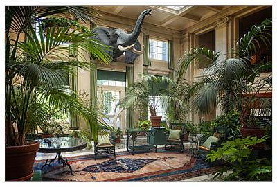 The Jungle Room At Eastman House Art Print