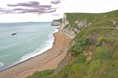 Photograph - The Jurassic Coast by Tony Murtagh