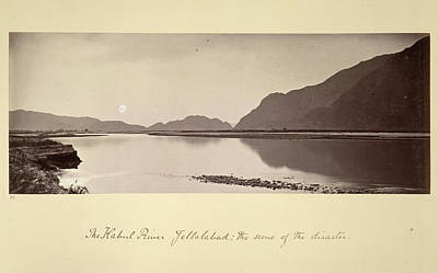 Afghanistan Photograph - The Kabul River by British Library