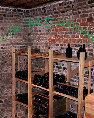 Vine Photograph - The Keg Room Irish Green by LeeAnn McLaneGoetz McLaneGoetzStudioLLCcom