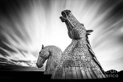 The Kelpies Art Print by John Farnan