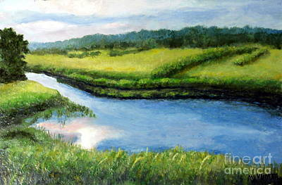 The Kennebecasis River Art Print