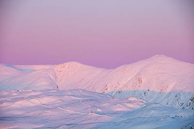 Ambleside Wall Art - Photograph - The Kentmere Fells Covered In Snow by Ashley Cooper