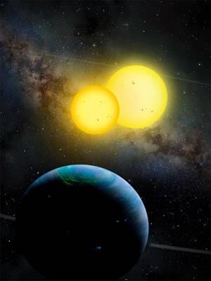 The Kepler 35 System Print by Movie Poster Prints