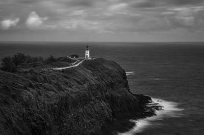 The Kilauea Lighthouse  Art Print