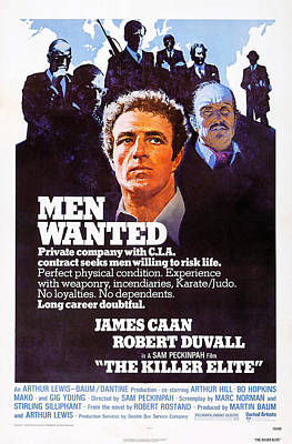 James Caan Photograph - The Killer Elite, Us Poster Art by Everett