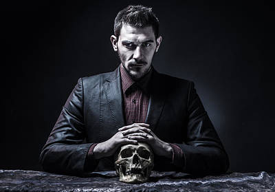 Portriat Photograph - The Killer by Stefan Stefanov