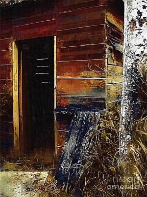 The Killing Shed Art Print by RC DeWinter