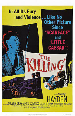 Films By Stanley Kubrick Photograph - The Killing, Us Poster Art, Sterling by Everett