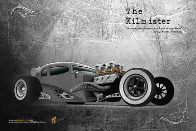 Digital Art - The Kilmister by Doug Schramm