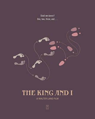 The King And I Art Print by Smile In The  Mind