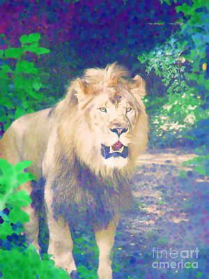 Art Print featuring the photograph The King by Diane Miller