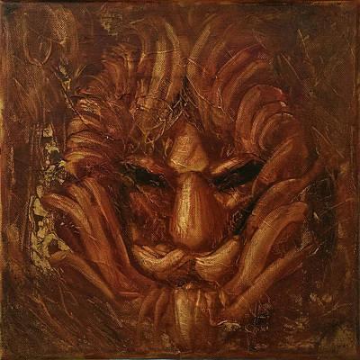 Painting - The King Of Beasts by Siyavush Mammadov