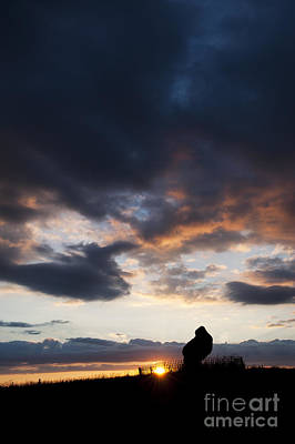 Photograph - The King Stone Sunset by Tim Gainey