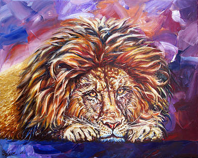 Painting - The King by Yelena Rubin