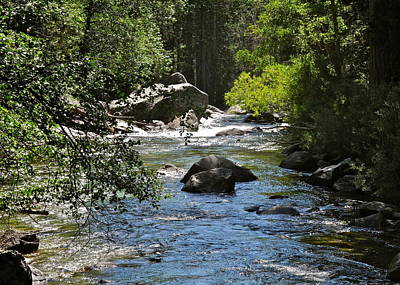 Photograph - The King's River Keeps Flowing by Kirsten Giving