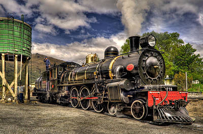 The Kingston Flyer Art Print by Phil 'motography' Clark