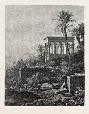 The Kiosk On The Island Of Philae Art Print