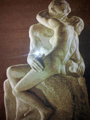 The Kiss - August Rodin Original