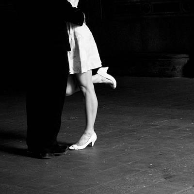 Photograph - The Kiss by Cornelis Verwaal