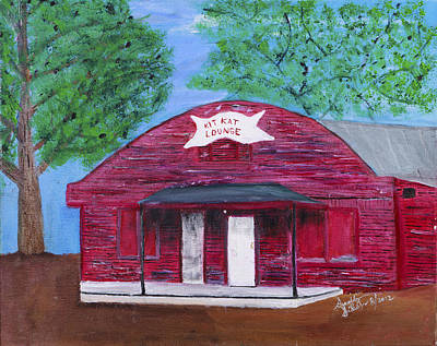 Painting - The Kit Kat Lounge by Swabby Soileau