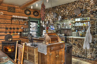 Old Home Place Photograph - The Kitchen by Juli Scalzi