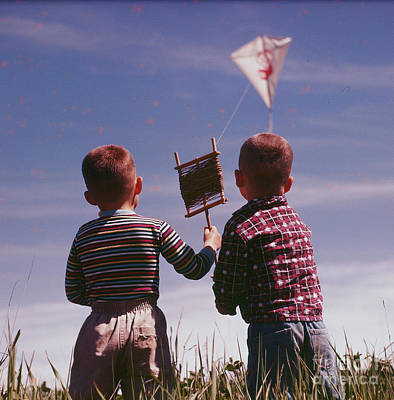Photograph - The Kite by Vintage Photography