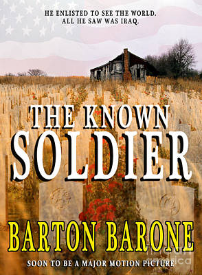 Pocketbook Cover Design Photograph - The Known Soldier by Mike Nellums