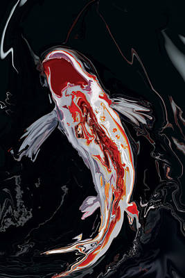 The Koi Art Print