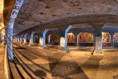 Art Print featuring the photograph The Krog Street Tunnel by Mark E Tisdale